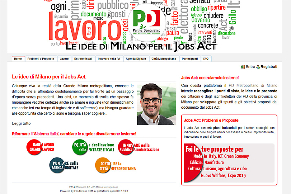 piattaforma del JOBS ACT